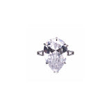 Geneva Ring (White/Rhodium)