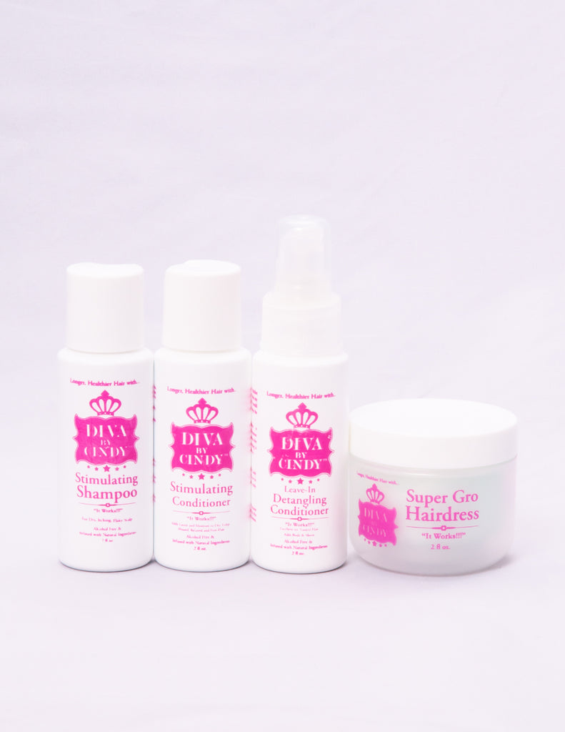 Travel Sizes/Sampler Stimulating Hair Growth System