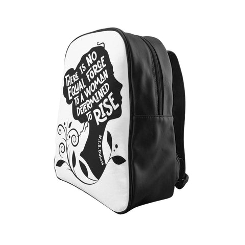 Image of A Woman Determined to Rise Backpack