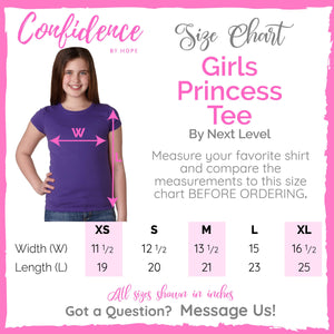 Know Your Worth Youth Girls T-Shirt