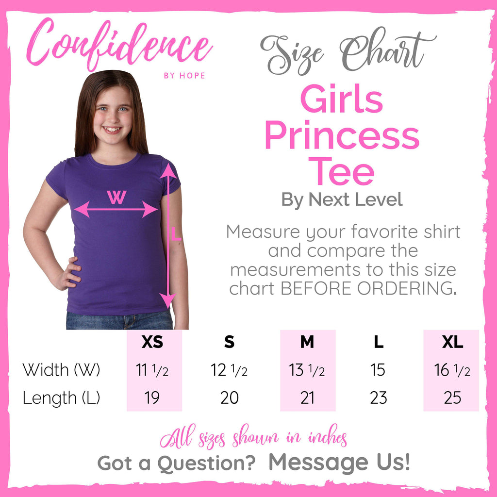 Why Fit In Youth Girl's T-Shirt