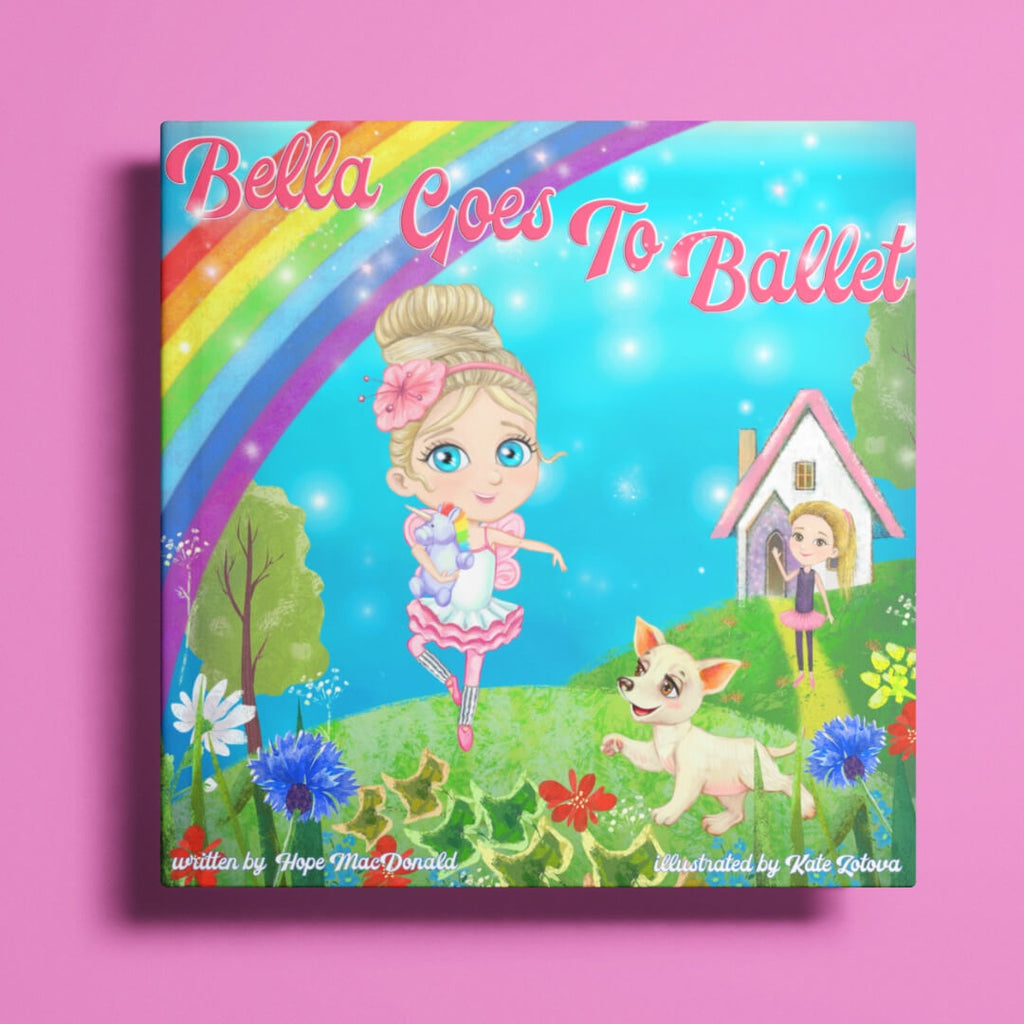 Bella Goes to Ballet Book - Hardcover