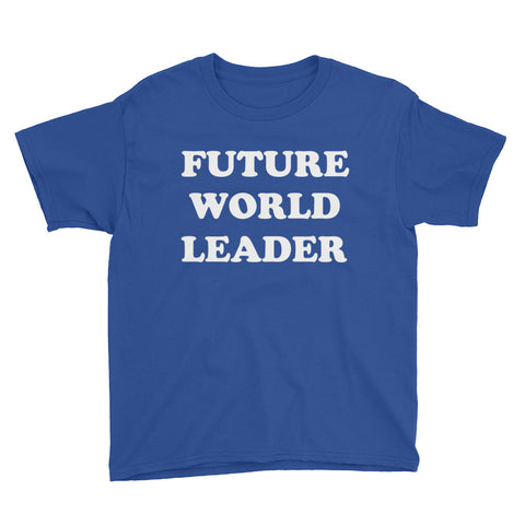 Image of Future World Leader Youth Boys T-Shirt