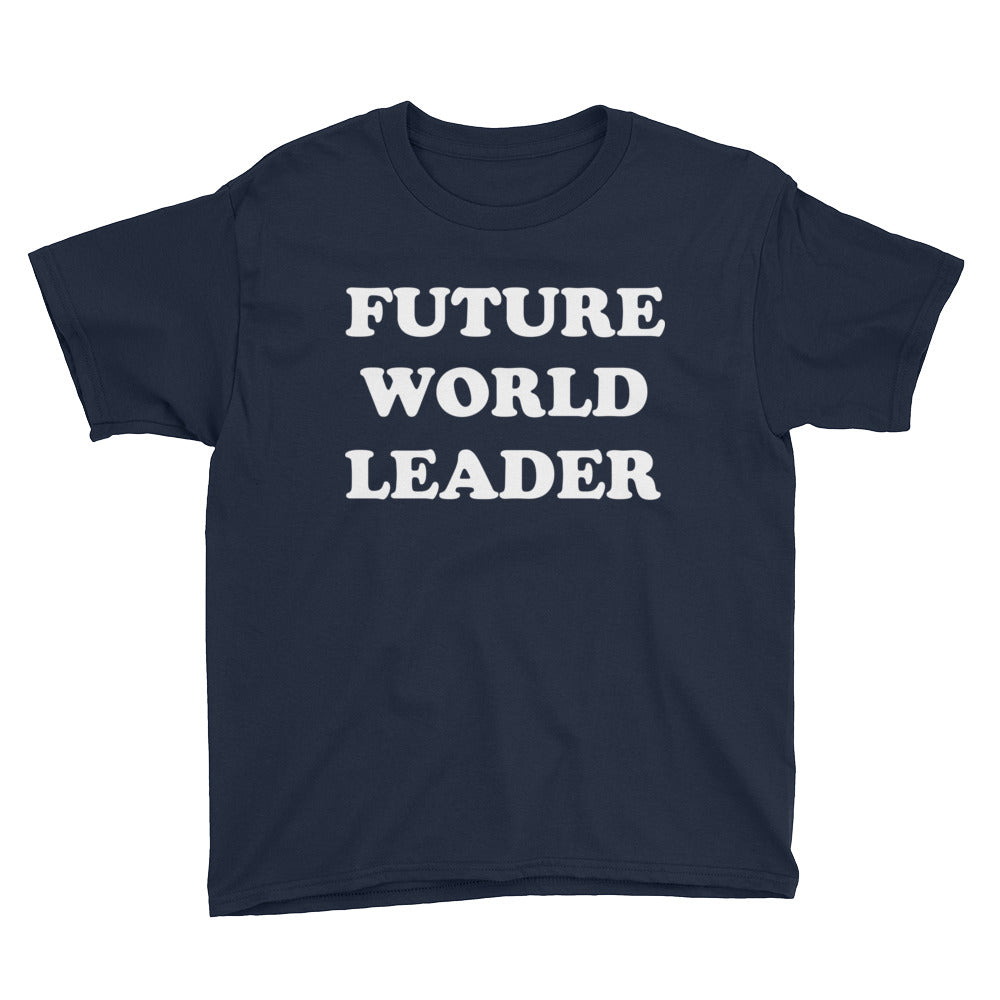 Future World Leader Youth Boys T-Shirt