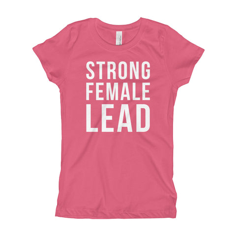 Image of Strong Female Lead Youth Girl's T-Shirt
