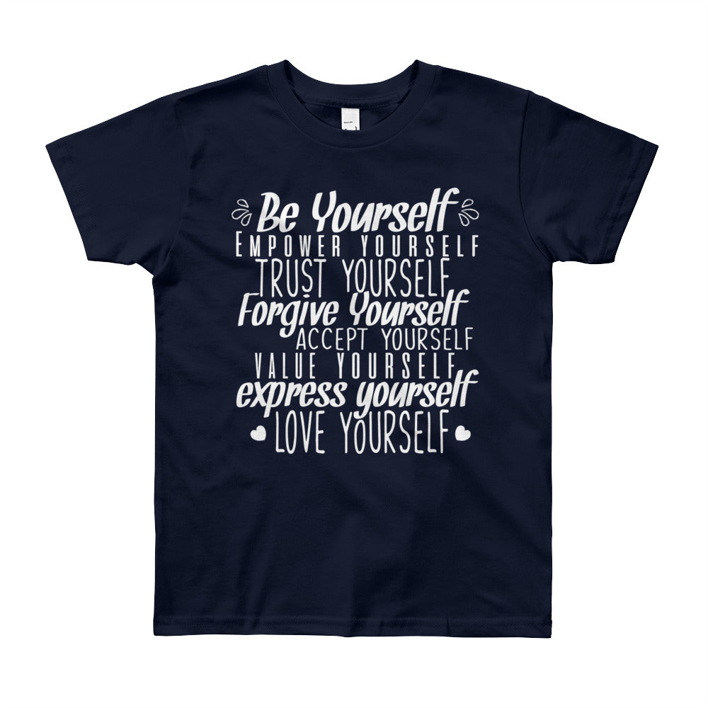 Be Yourself Be Kindness Youth Boys T-Shirt