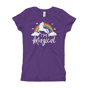 I'm a Magical Unicorn Youth Girls T-Shirt