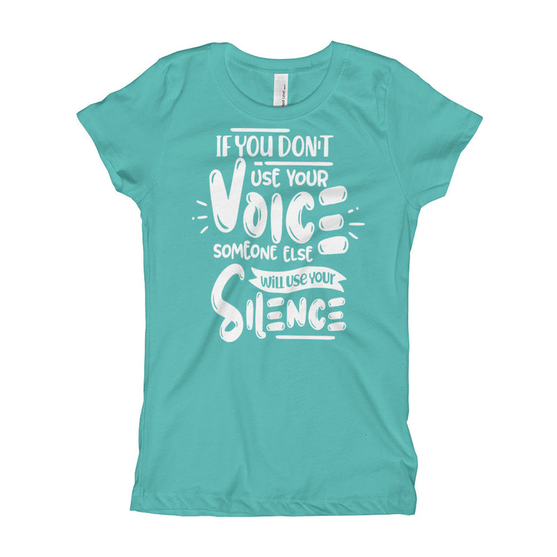 Use Your Voice Youth Girl's T-Shirt