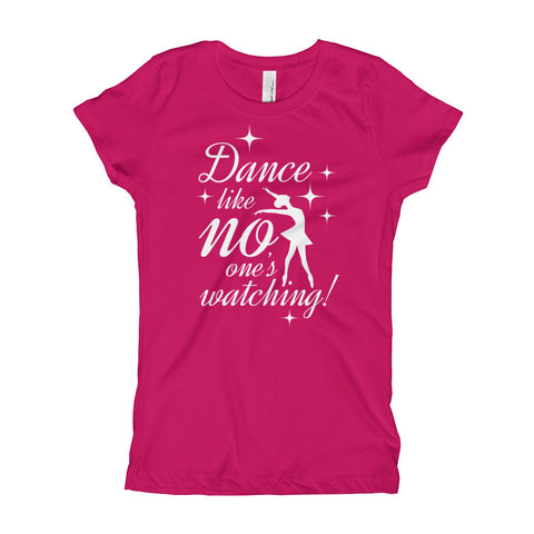 Dance Like No One's Watching Girls T-Shirt