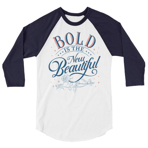 Image of Bold is the New Beautiful Unisex Baseball Tee