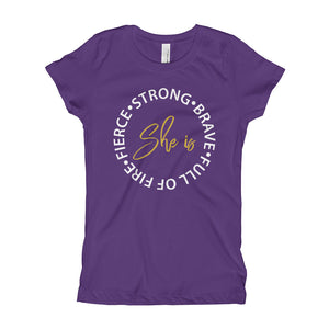 She Is Everything Youth Girl's T-Shirt