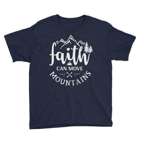 Image of Faith Can Move Mountains Boys T-Shirt