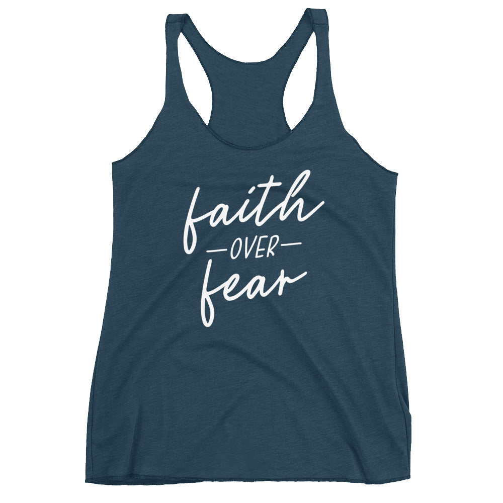 Faith Over Fear Women's Tank Top
