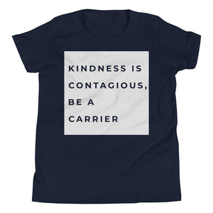 Kindness is Contagious Be a Carrier Youth Boys T-Shirt