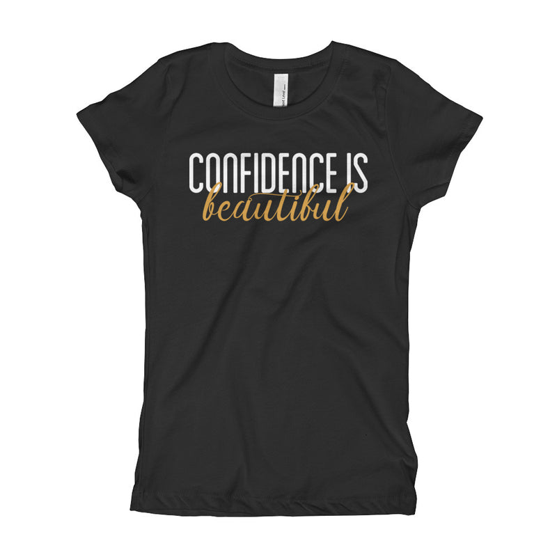 Confidence is Beautiful Girls T-Shirt