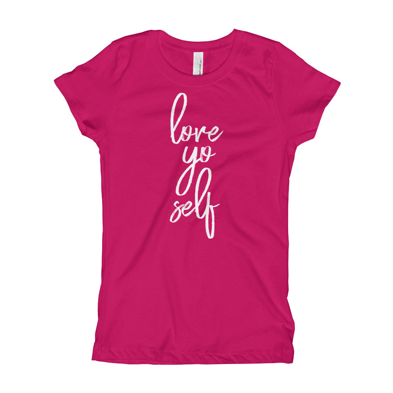 Love Yo Self Youth Girls T-Shirt
