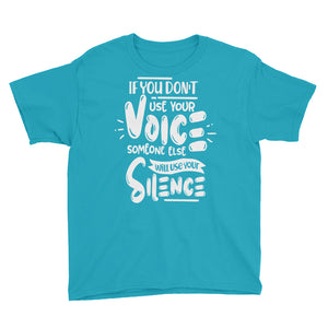 Use Your Voice Youth Boys T-Shirt