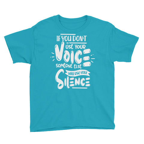 Image of Use Your Voice Youth Boys T-Shirt