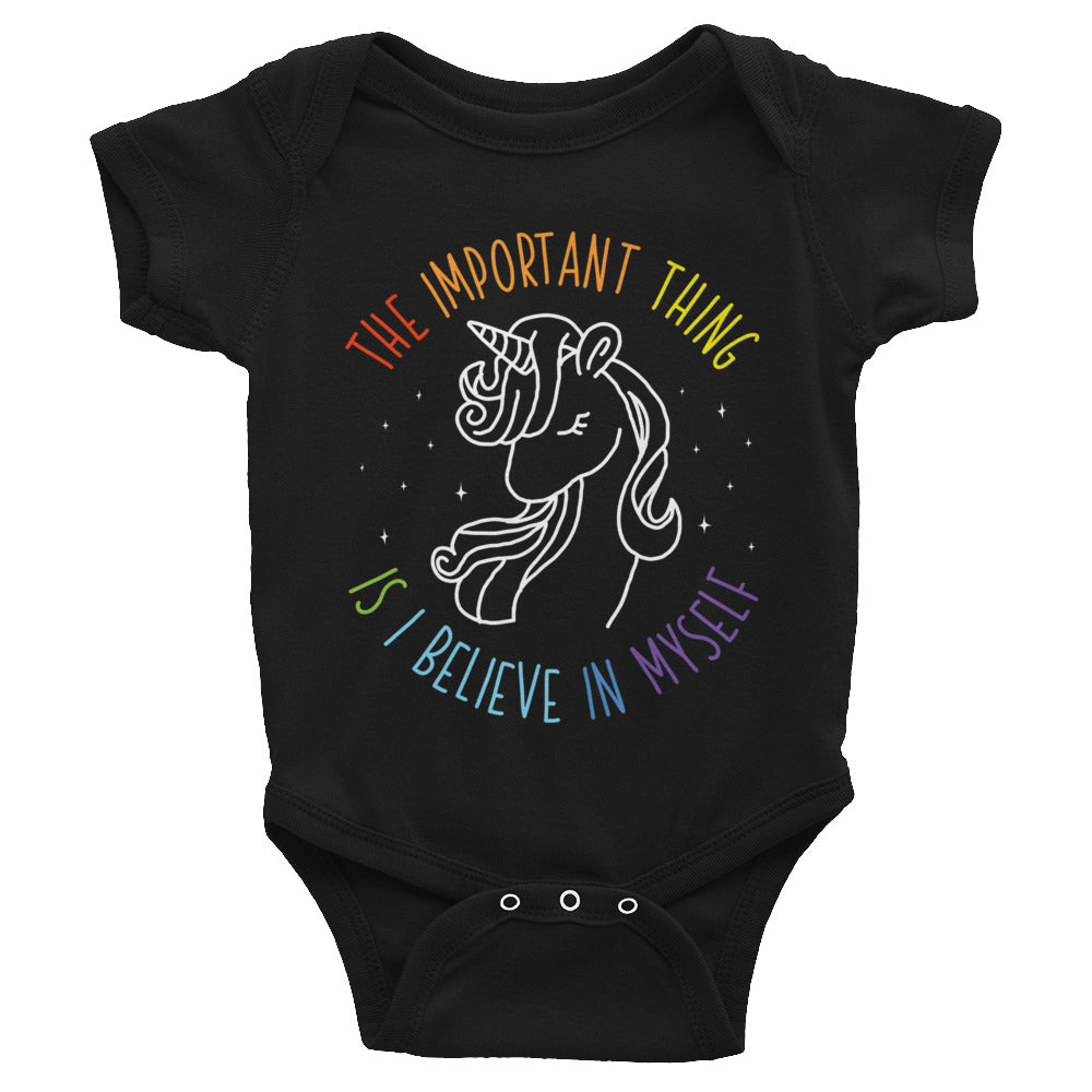 I Believe in Myself Baby Bodysuit