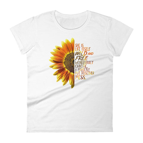 Image of She's a Wildflower Women's T-Shirt