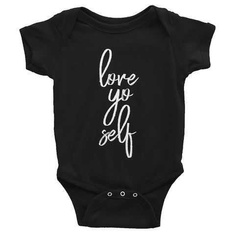 Image of Love Yo Self Baby Bodysuit