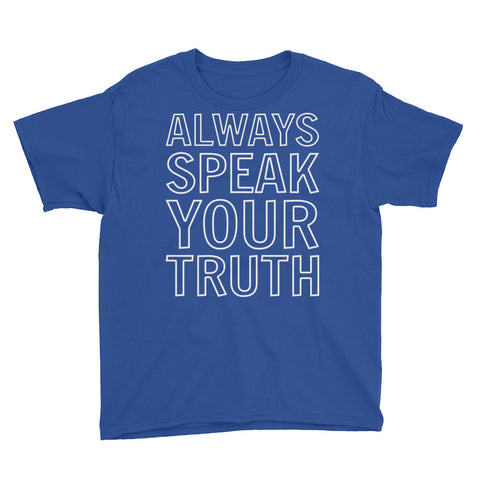 Image of Always Speak Your Truth Youth Boys T-Shirt