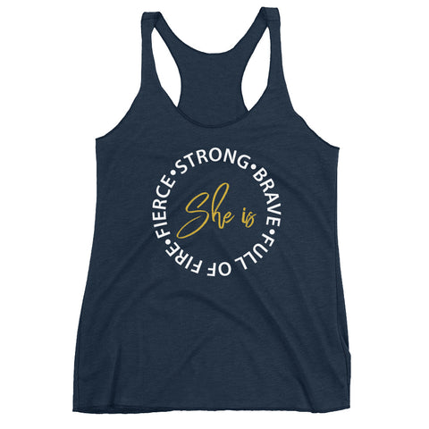 Image of She Is Everything Women's Tank Top