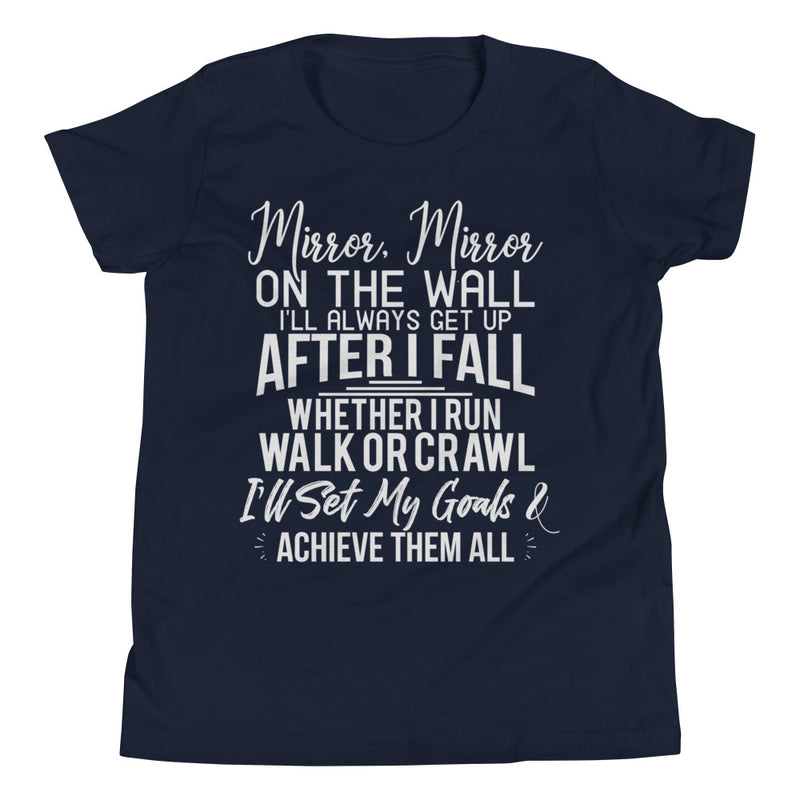 Achieve My Goals Youth Boys T-Shirt