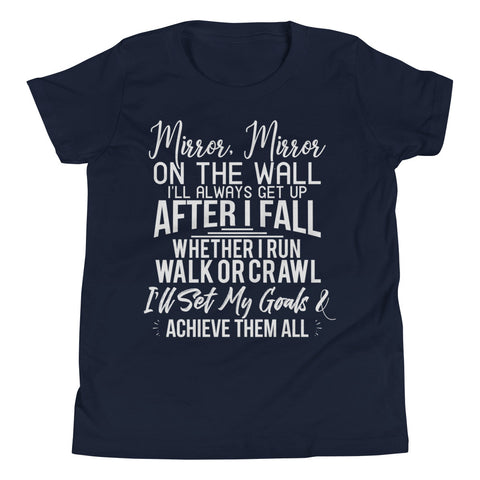 Image of Achieve My Goals Youth Boys T-Shirt