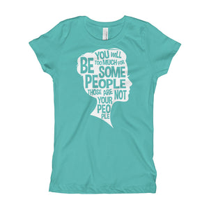 Be Your True Self Youth Girl's T-Shirt