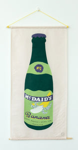 McDaid's Banana - Textile Collage