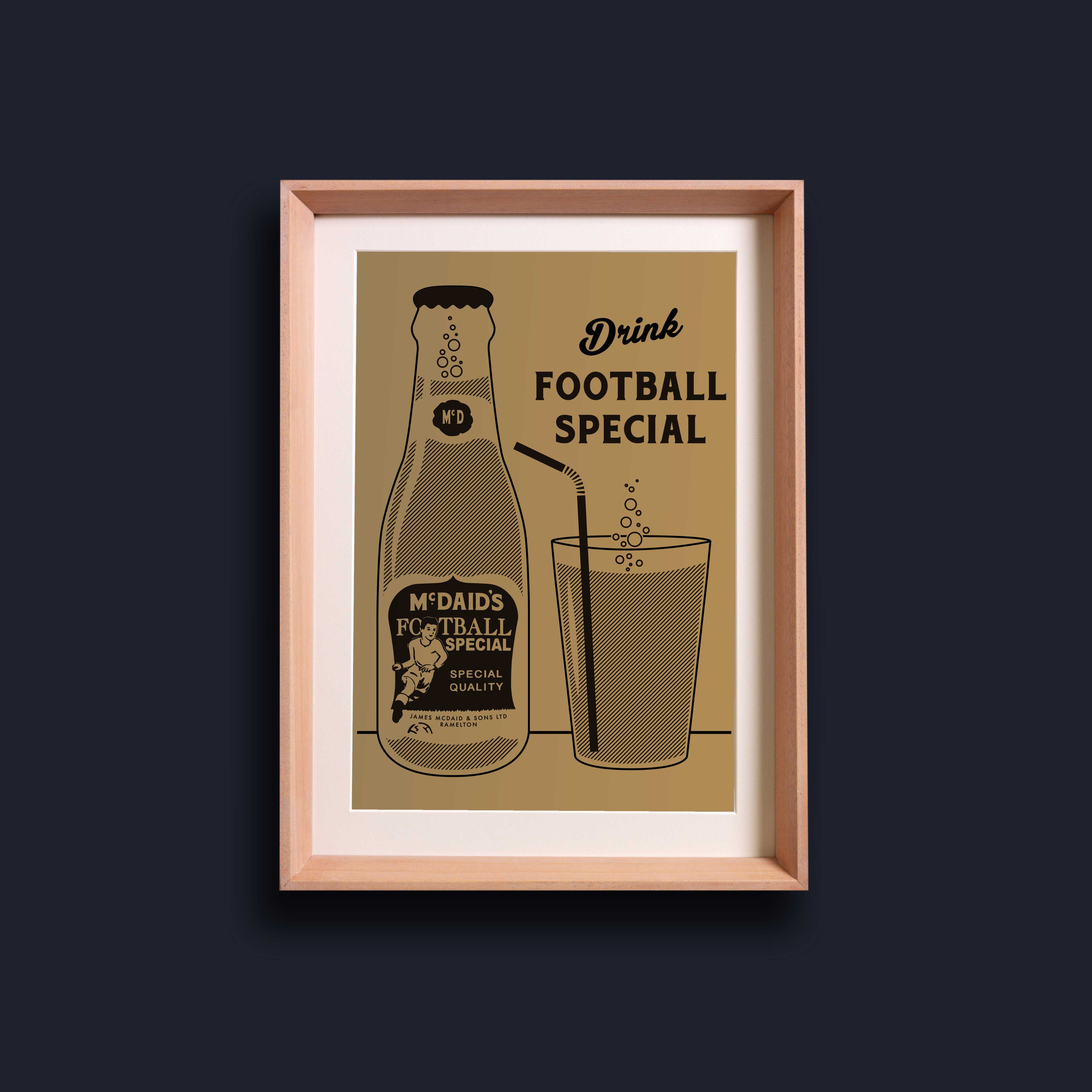 Riso Print - McDaid's Football Special