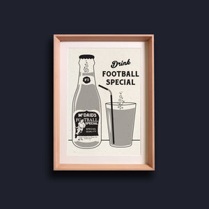 McDaid's Football Special - Riso Print