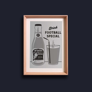 Open image in slideshow, Riso Print - McDaid's Football Special