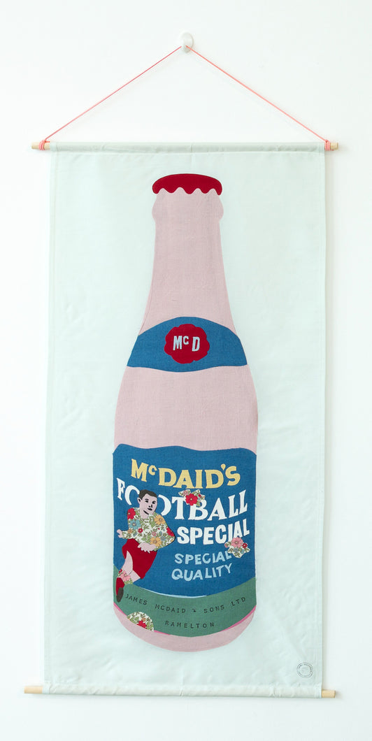 McDaid's Football Special - Textile Collage