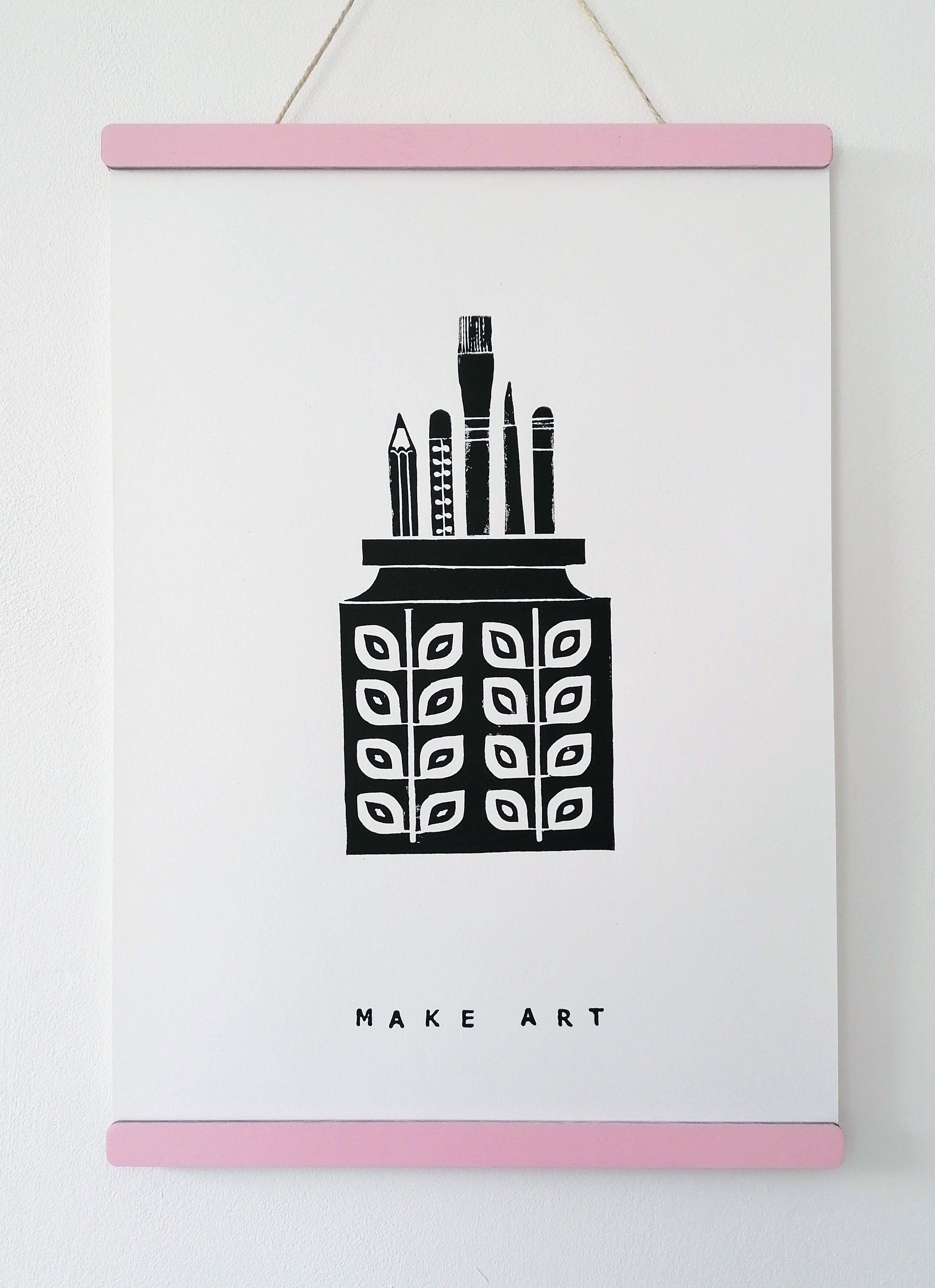 Lino Print - Make Art