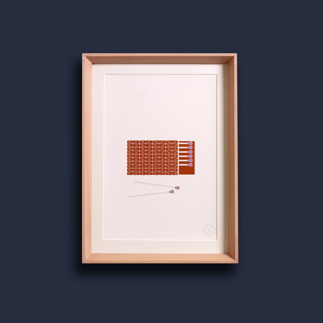 Perfect Match! - Screen Print