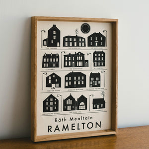 Open image in slideshow, Ramelton - Riso Print