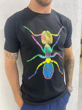 Load image into Gallery viewer, Boy's Black Cotton Ant T Shirt