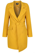 Load image into Gallery viewer, Saffron Blazer Dress
