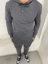 Load image into Gallery viewer, Graphite Logo Panel Tracksuit