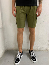 Load image into Gallery viewer, Camouflage Cargo Shorts