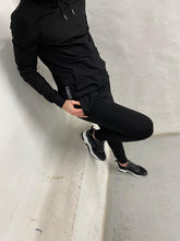 Load image into Gallery viewer, Black Logo Panel Tracksuit