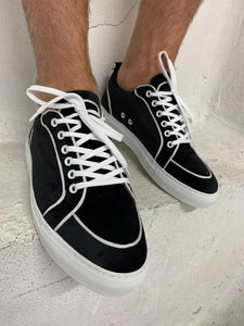 Black Velvet Trainers