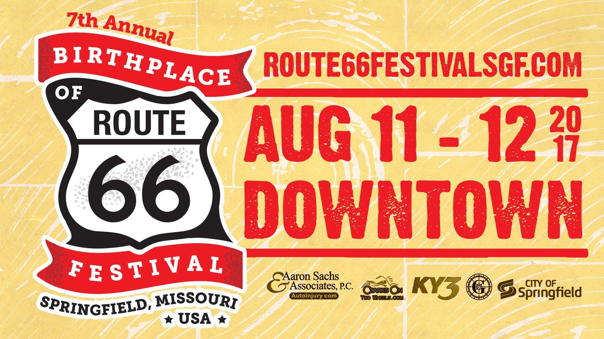 Birthplace of Route 66 Festival in Downtown SGF