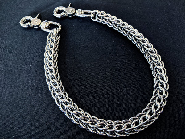 Stainless Steel Persian Weave Chainmaille Wallet Chain from Anvil Customs