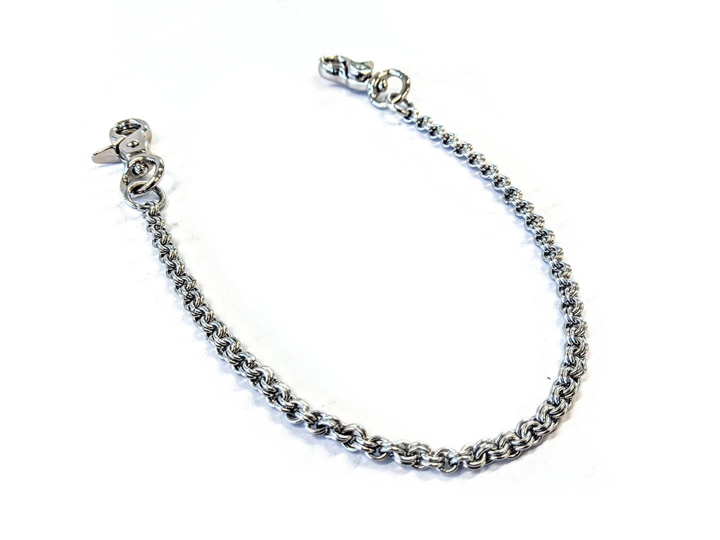 13 Inch Anvil Wallet Chain - Slim 2 In 2 Chain