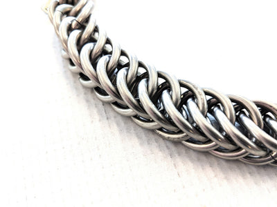 14 Inch Goliath Half-Persian Chain Mail Wallet Chain - Anvil Customs
