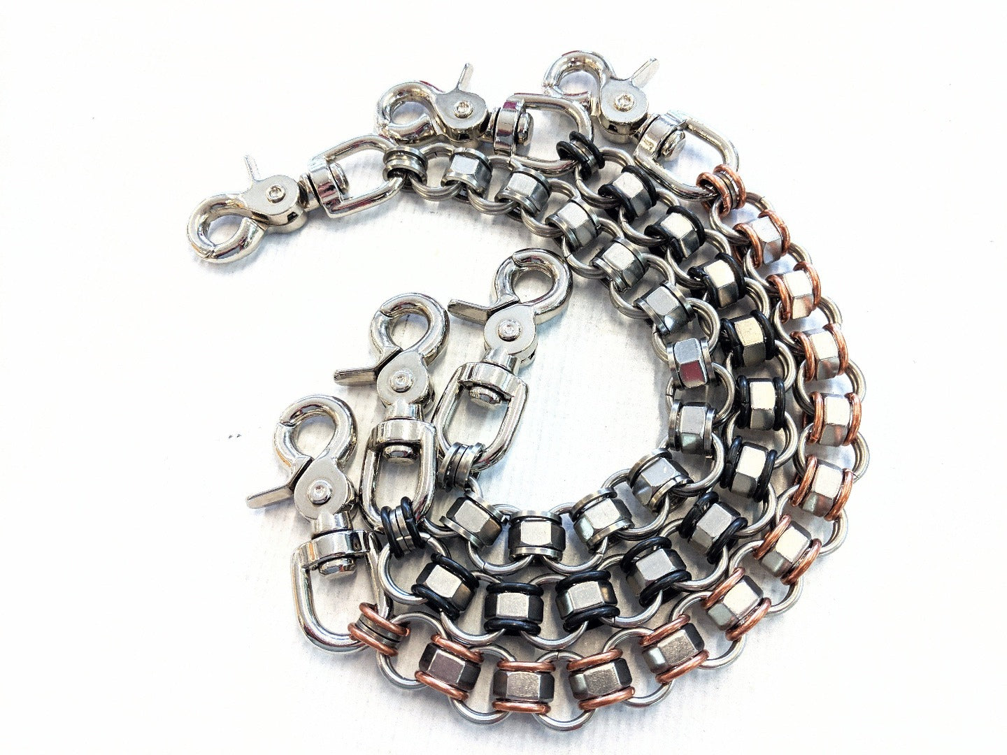14 Inch Industry Chain Mail Wallet Chain - Anvil Customs