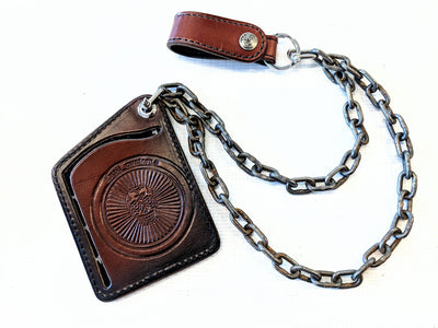 18 Inch Anvil Standard Steel Double Back Wallet Chain - Anvil Customs